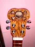 Skull Theme Tenor CBUke Low G tuning