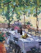 Richard Oversmith Demonstration of Plein Air, Peony Farm and Lunch