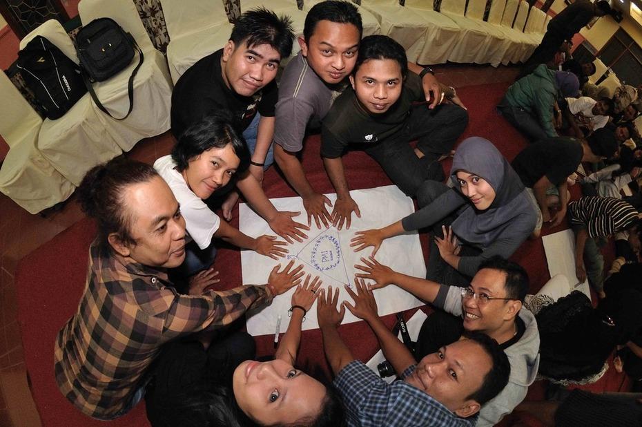 The Kalbar Crew celebrate their strengths
