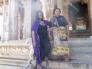 Melanie's vist to SALT visit India