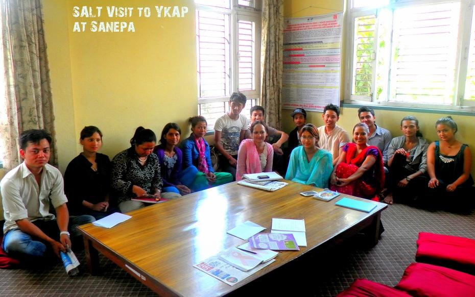 SALT visit at YKAP by group II- CLC Nepal