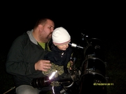 Valdemar kollar i teleskopet