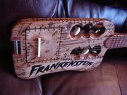 """""""FRANKENSTEIN"""" Travel Guitar"""