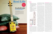 DIY Article in 'BUST' magazine