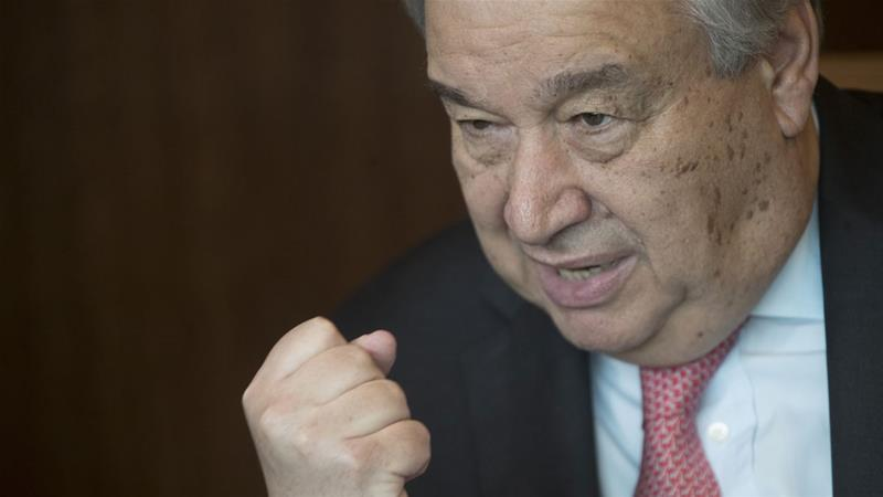 Al Jazeera: UN chief forecasts 'total disaster' if global warming not stopped