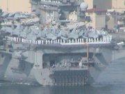 USS Nimitz Deploys 73109