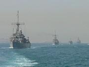 RN JDF and USN MCMVs in the Gulf Dec 2011 med