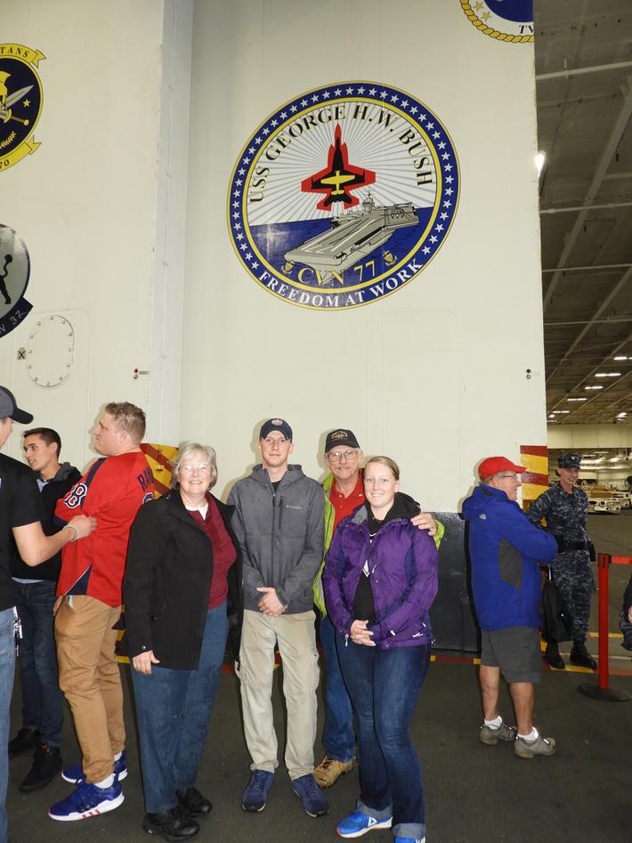 USS George H. W. Bush CVN 77
