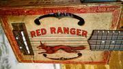 """Red Ranger"" Cigar Box Ukulele"