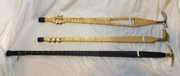 Walking Stick One String Bass and siblings