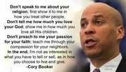 Cory Booker on Religion