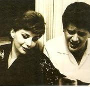 Sylvia Telles e Luiz Eça