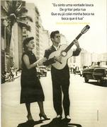 Sylvia Telles e Candinho