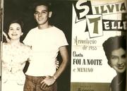 Sylvia com Carlos Lyra