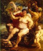 Baco ébrio - Rubens