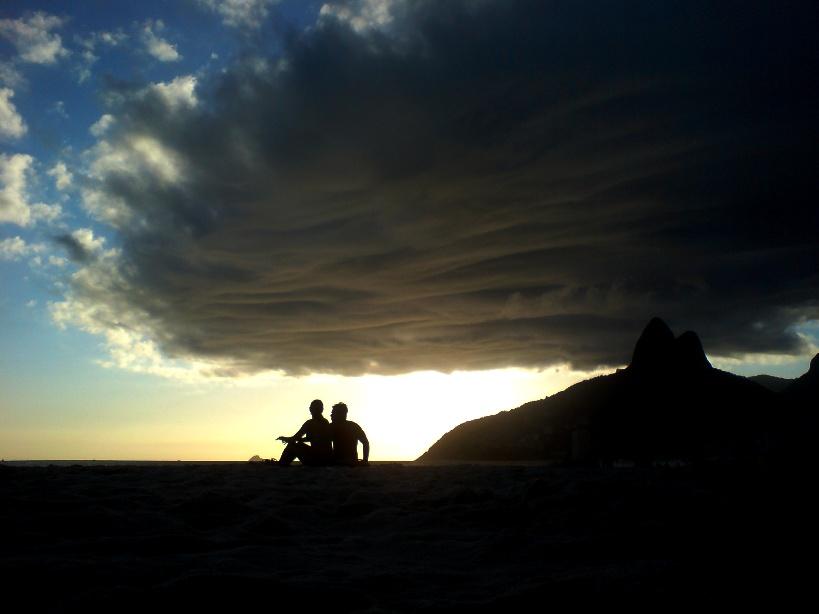 Furacão no Rio?