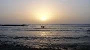 Por do Sol olhando para o Mar