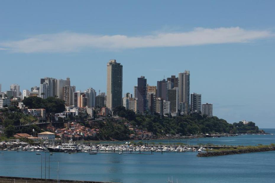 Vista da Marina-Salvador