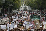 Manifestações contra a mídia no México