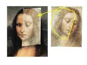 Monalisa e Cristo de Leonardo