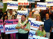 Panos & the Campaign Team