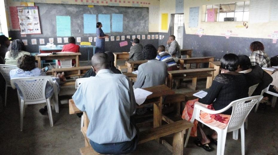 INSET - Echariria Primary school - Gilgil