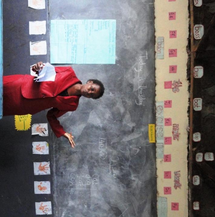 Madam Kerubo, EBB 2012 participant leading a session