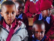 Learning together at Nkoasenga Primary School, 2016