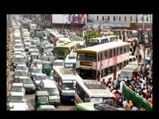 The busy city of Dhaka