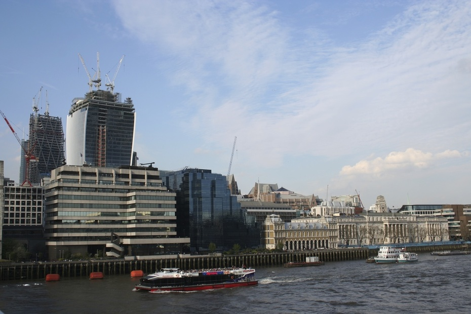 City riverfront