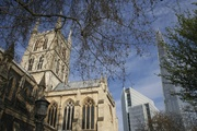 Southwark Cathedral and The Shard