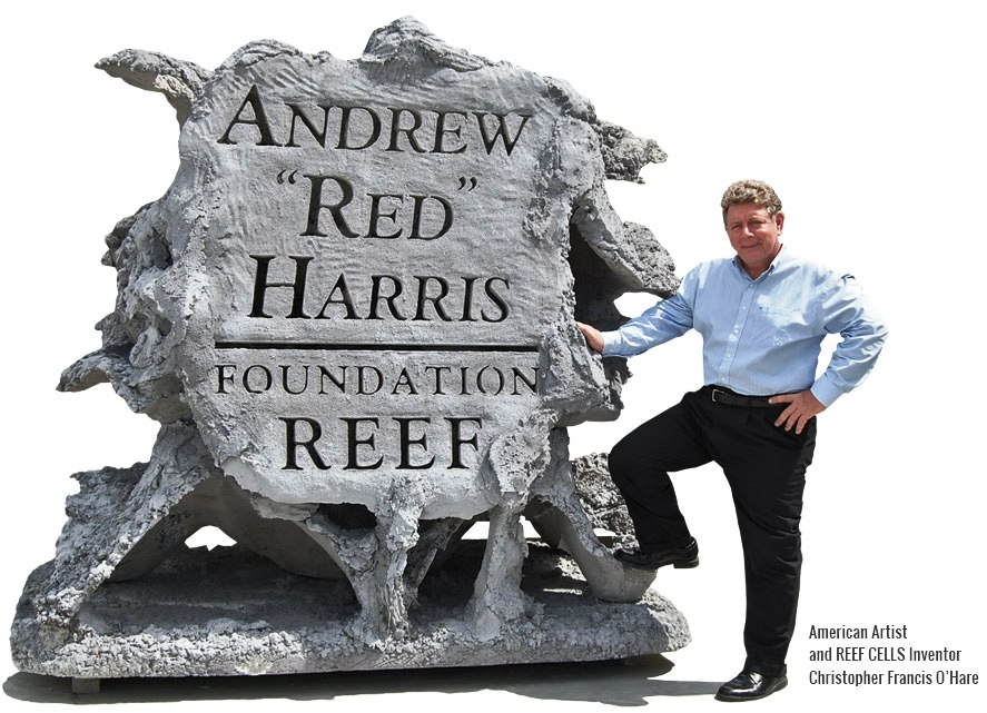 """Jupiter Artificial Reef to honor Andrew """"Red"""" Harris donated by Chris O'Hare"""