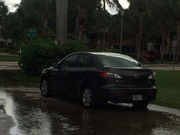 Marine Way and SE First Street in Delray Beach about 3:15 p.m. Friday.