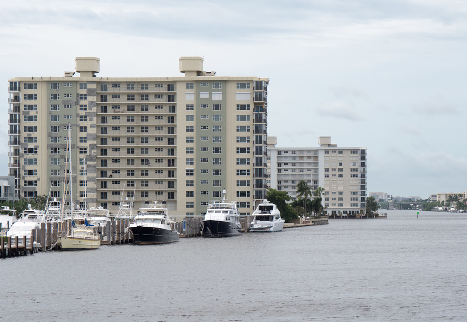 The Intracoastal Waterway in Delray