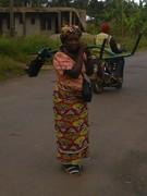 Church street women: member with new weeder