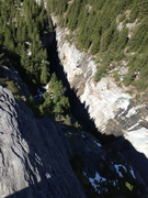 Gorge climbing between the Eiger and Shrekhorn