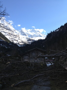 Lauterbrunnen Valley - storm damage