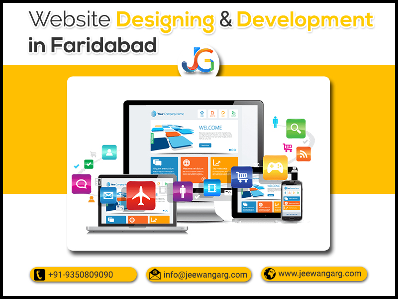 India's best service provider of Website Designing Company in Faridabad - Jeewan Garg