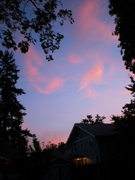 Oct 3rd dancing clouds at sunset