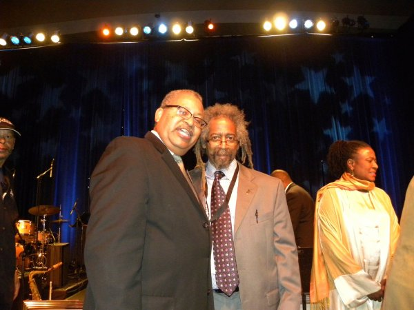 Cedric Hendricks and Bill Brower