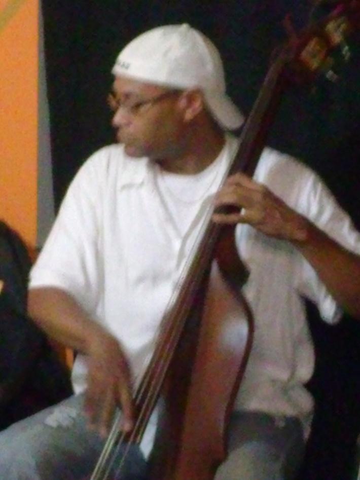 Sankofa Jazz Club Manager Tensae & George V Johnson Jr