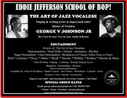 Eddie Jefferson School of Bop Available for Bookings