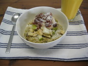 Pear, Pineapple & Apple Bircher with