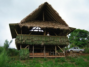 our bamboo house in Costa Rica