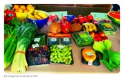 Veggie shop from the local fruit store