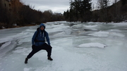 On the frozen river