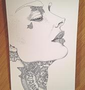detailed face