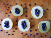 melons and blueberries