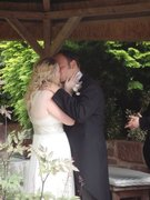 Our 1st Married Kiss