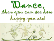 Dance happy design